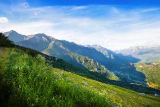 Tema montagna estate